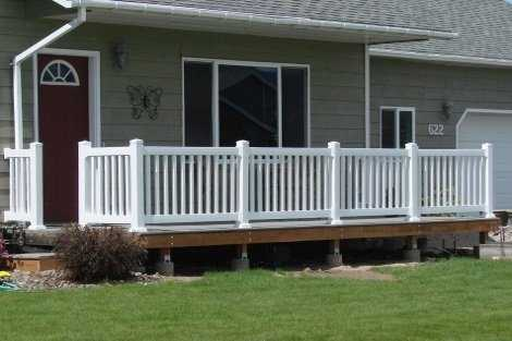 Porch Rail Idaho Fence